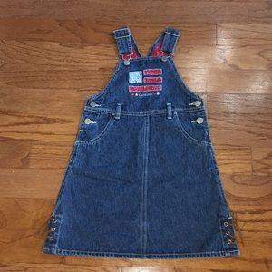 Oshkosh Denim overalls for girls sz 5
